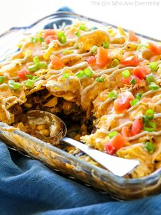 recipe: taco pie with tortilla chips [3]