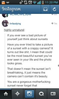 You are all my beautiful sunsets!