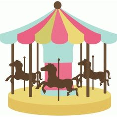 Carousel SVG cutting file carousel svg file for cutting machines carousel svg cut file cute svg cuts Free Clipart Images, Cute Clipart, Carousel Party, Carrousel, Silhouette Online Store, Carnival Themes, Stencil Templates, Carousel Horses, Amusement Park