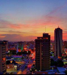 Atardecer en Maracaibo, Edo. Zulia. Venezuela