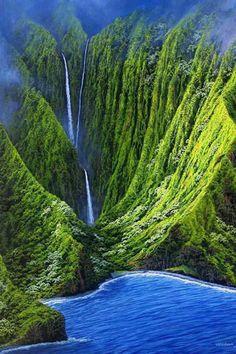 Molokai - one of Maui county's 3 islands