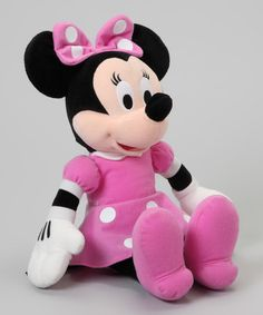 Take a look at this 15'' Minnie Plush Toy by Mickey Mouse & Minnie Mouse Collection on @zulily today!