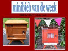 Little free library Hasselt, minibieb van de week  16, bij Jet's Minibieb.