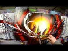 Learn How to Paint Abstract Painting with Acrylics video - Anthylis by J...