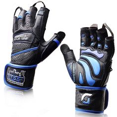 Grip Power Pads Elite Leather Gym Gloves with Built-in Wide Wrist Wraps – Leather Glove Design for Weight Lifting, Power Lifting, Bodybuilding & Strength Training Workout Exercises (Medium) Gym Gloves, Workout Gloves, Mens Gloves, Workout Gear, Fun Workouts, Workout Exercises, Home Gym Equipment, No Equipment Workout, Plus Fitness