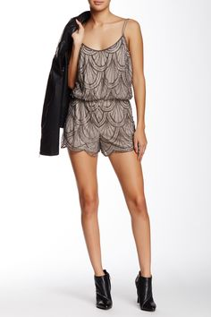 Angie - Beaded Romper at Nordstrom Rack. Free Shipping on orders over $100.