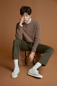 Korean Men FashionYou can find Korean fashion men and more on our website. Korean Fashion Men, Korean Men, Mens Fashion, Male Street Fashion, Fashion Shirts, Fashion Moda, Fashion Trends, Human Poses Reference, Pose Reference Photo
