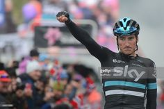 Italian Gianni Moscon from Team SKY wins the third stage of the Arctic Race of…