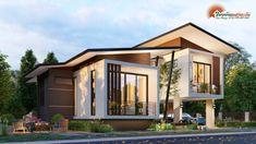 Best Modern Popular House Design # Amazing Architecture Design of Life Best Modern House Design, Modern Minimalist House, Small Modern Home, Model House Plan, My House Plans, Amazing Architecture, Modern Architecture, Rest House, Tiny House