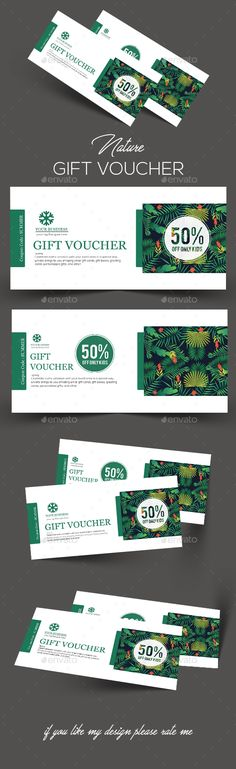 Summer #Gift #Voucher - Loyalty Cards Cards & Invites Download here: https://graphicriver.net/item/summer-gift-voucher/20091405?ref=alena994
