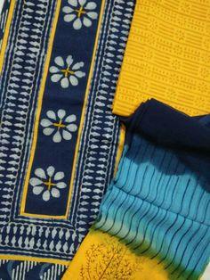 #super_dyeing_quality_fabric_designers_dress_materials 2.5 mt. Top 2.5 mt. Bottom cotton 2.5 mt. Designer Chiffon dupatta  #Whatsapp/#Call  +91-8302347939
