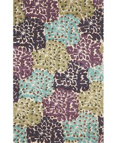 Make a #bright and #beautiful statement with this Joli #rug from #Havertys.