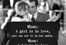 When: A Girl Is In Love, You Can See It In Her Smile Her Smile Quotes, Grief, I Can, Relationship, Canning, Love, Feelings, Amor, Home Canning