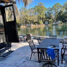 Hilton Head Island Motorcoach Resort - Hilton Head Island, South Carolina - Campground Reviews Best Rv Parks, Bike Path, Hilton Head Island, Outdoor Furniture Sets, Outdoor Decor, Rv Life, Campsite, South Carolina, Paths
