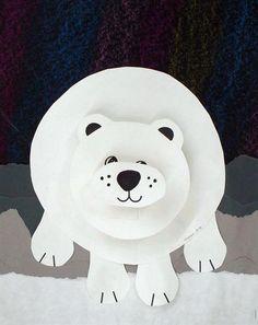 Polar bear art Artsonia Art Museum :: Artwork by Christmas Art Projects, Winter Art Projects, Winter Crafts For Kids, Projects For Kids, Art For Kids, Bear Crafts, Animal Crafts, Winter Thema, Classe D'art
