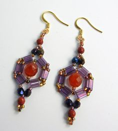 Backstory Beads: Earring a Day Challenge