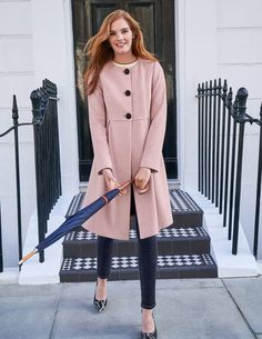 Browse our range of coats and jackets for women. From lightweight jackets to cosy coats in soft wool-blends, discover outerwear for everywhere at Boden. Winter Coats Women, Coats For Women, Jackets For Women, Smart Coat, Boden Uk, Swing Coats, Work Fashion, Fashion Ideas, Timeless Fashion