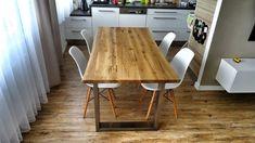 Rustikální - designový jídelní stůl Dining Tables, Interior, Kitchen, Inspiration, Furniture, Design, Home Decor, Table, Kitchen Dining Tables