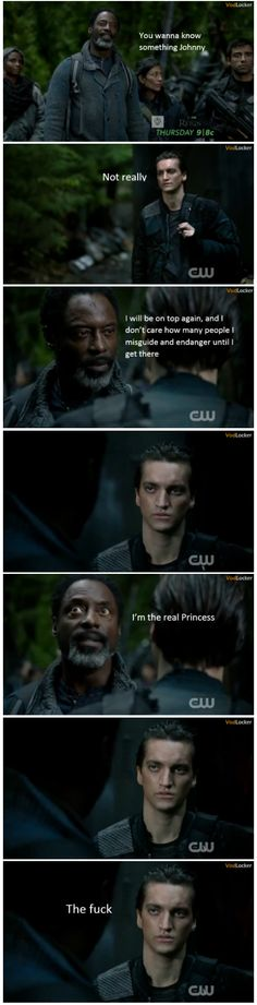 Bek watches the 100 || Hahhhah.. Best || John Murphy and Thelonius Jaha || The 100 season 2 episode 10 - Survival of the Fittest || Richard Harmon and Isiah Washington