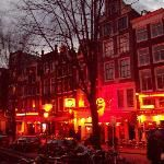 Red Light District / This is one place that we skipped during our trip in Amsterdam