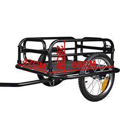 """TIGGO 16"""" Lastenanhänger Fahrradanhänger Transportanhänger faltbare Rahmen NEU 20300"""