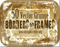 1000 Frames & Borders Photoshop Brushes Free Download