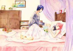 Sasuke Uchiha, Anime Naruto, Sasuke Sakura Sarada, Naruto Cute, Naruto Funny, Manga Anime, Naruto Couples, Anime Couples, Anime Bebe