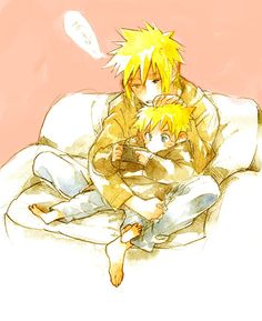 I think I see a pattern of obsession here...Minato and Naruto
