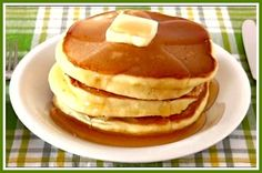 How to Make Hot Cake (Pancake) Recipe ホットケーキの作り方 (パンケーキ) レシピ Japanese Hot Cakes Recipe, Japanese Recipes, Japanese Food, Breakfast Dishes, Breakfast Recipes, Sweet Recipes, Cake Recipes, Crepes And Waffles, Fluffy Pancakes