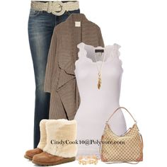 Uggs, created by cindycook10 on Polyvore