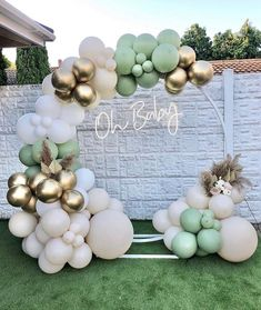 Shower Party, Baby Shower Parties, Baby Shower Themes, Baby Boy Shower, Baby Shower Decorations, Shower Ideas, Baby Shower Cakes, Balloon Arch Diy, Balloon Garland