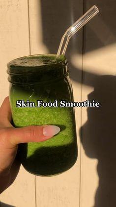 Healthy Juice Recipes, Fruit Smoothie Recipes, Healthy Juices, Smoothie Diet, Healthy Smoothies, Healthy Drinks, Healthy Eating, Healthy Skin, Healthy Food