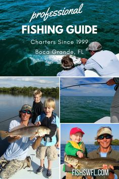 Boca Grande fishing charters with Captain Mark Becton - Fish On Charters of Boca Grande #fishswfl #fishing #bocagrande #captainmarkbecton