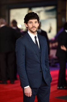 Colin Morgan: 'Testament of Youth' Premieres in London