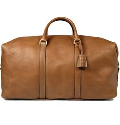 Mulberry Clipper Leather Holdall | MR PORTER