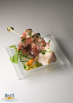 CUCINA! – A world of Italian cuisine » FINGER-FOOD Spiedino di polpo e pomodori