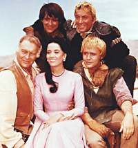 monday night BBC2 again. Classic TV Western Shows - High Chaparral, Leif Erickson, Cameron Mitchell, Henry Darrow, Linda Cristal - via http://bit.ly/epinner