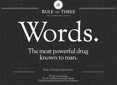 Rule of Three has an elegant website design that's perfectly combined with Barry Schwartz's Sorts Mill Goudy font, a revival of Frederic Gou...