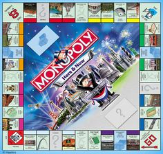 Monopoly Game Board   The Good: The game that teaches capitalism and big business.