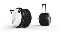 「丸型スーツケース」が画期的すぎる 開発者は中学校の社会科教員 - KAI-YOU.net