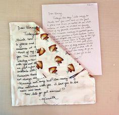 DIY Wedding: Turn a Love Note Into a Keepsake   Spoonflower Blog