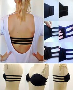 3 strap bra for backless top and dresses #Fashion #Beauty #Trusper #Tip