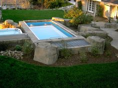 The Original Endless Pool, our signature model installs indoors or out for year-round use. Swimming Pool Pictures, Swimming Pools Backyard, Lap Pools, Backyard Patio, Outdoor Pool, Backyard Ideas, Backyard Play, Patio Ideas, Outdoor Ideas