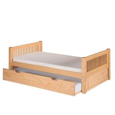 You'll love the Convertible Twin Bed with Trundle at AllModern - With Great Deals on modern Baby & Kids  products and Free Shipping on most stuff, even the big stuff.