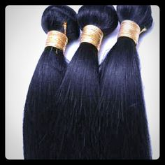 Accessory Hair is the new accessory.  Beautiful, luxurious brazilian hair.  No tangle,no smell,no mess 8a LaidandSlayedHair  Accessories