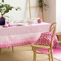 Patchwork Digital Print Napkin and Tablecloth -