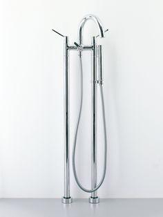 Bathtub tap set  ARUB170000C - .MET0169R - .MET0236R also available in matt white