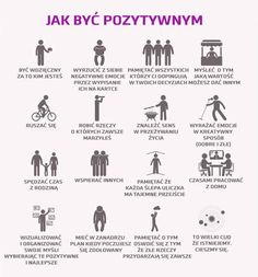"Jak być pozytywnym via profil ""Depresja to słowo"" na FB Self Development, Personal Development, Good Habits, Life Organization, Life Motivation, Better Life, Self Improvement, Positive Vibes, Happy Life"