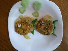 Μπιφτέκια ψαριού της Ειρήνης Tacos, Mexican, Eggs, Breakfast, Ethnic Recipes, Food, Breakfast Cafe, Egg, Essen