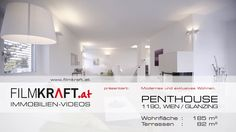 Penthouse in 1190 Wien: Immobilienvideo mit Homestaging Video Film, Modern, Most Beautiful, Objects, Loft, Real Estate, Real Estates, Homes, Trendy Tree